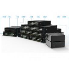 201-AEIM DELL Networking X1026 с веб-интерфейсом, 24 порта 1GbE и 2 порта 1GbE SFP, 3YPSNBD