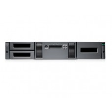 AK379A HP MSL2024 0-Drive Tape Library (up to 1 FH or 2 HH Drive), incl. Rack-mount hardware